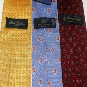 Lot of  3 Brooks Brothers Recent ties